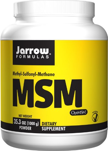 Jarrow formules MSM, renforce les articulations, 1000 mcg, 1 kg