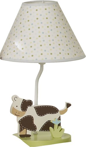 Sumersault Moo Cow Lamp With Shade (Discontinued By Manufacturer)