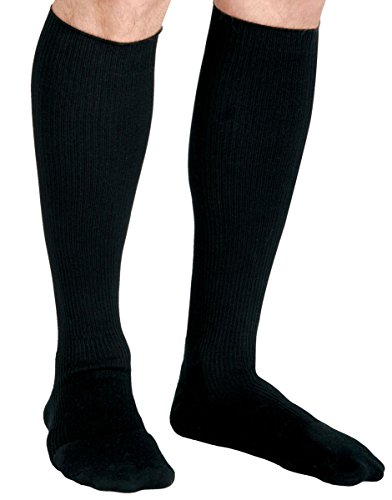 Curad MDS1714EBH Cushioned Compression Socks, 15-20 mmHg