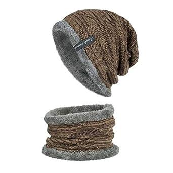 Sombrero De Invierno Hombres Gorros para Hombres Gorras Fluffy ...