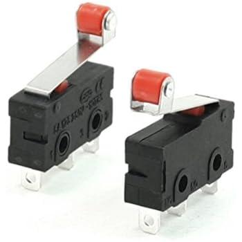 WINOMO Mini Micro Limit Switch Roller Lever Arm SPDT Snap Action LOT 10 Pcs