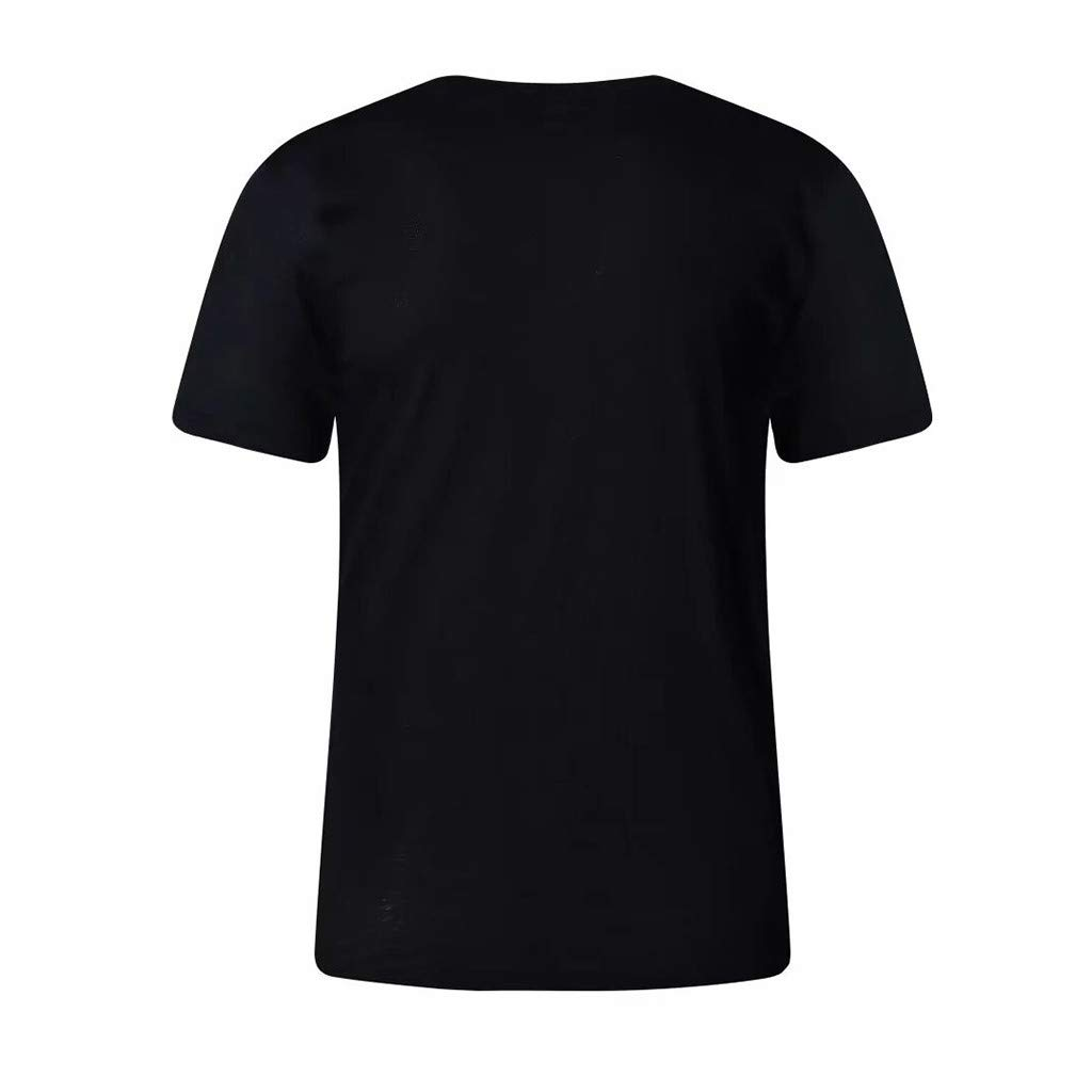 Mens Letter Printing Shirt Short Sleeve Casual T-Shirt Blouse Tops for Summer Fashion!