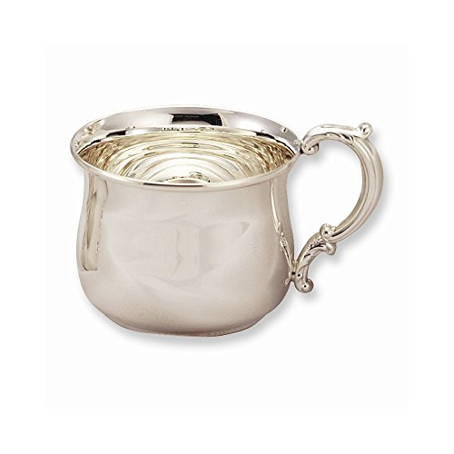 Sterling Silver Hollow Handle Baby Cup by Jewelry Adviser Gifts