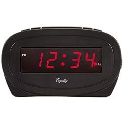 Equity by La Crosse 30228 LED Alarm Clock