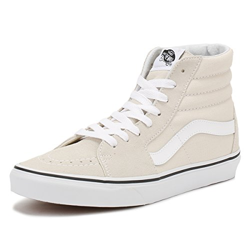 Vans Women's Sk8-Hi Trainers Birch/True White XYffBVehi