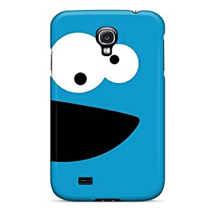 Galaxy S4 Covers Cases - Eco-friendly Packaging(cookie Monster)
