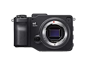 Sigma C40900 SD Quattro with APS-C Sensor Point & Shoot Digital Cameras, Black