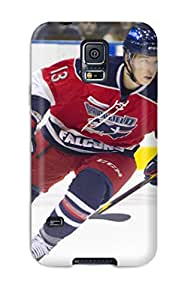 Fashion Protective Columbus Blue Jackets Hockey Nhl (19) Case Cover For Galaxy S5