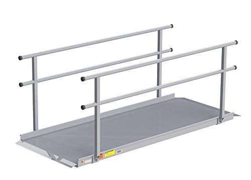 EZ-ACCESS Gateway 6 Feet Ramp with handrails, 71 ()
