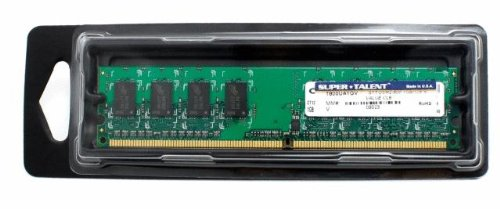 Super Talent DDR2-800 1 GB/128x8 Value Memory T800UA1GV - Bulk -