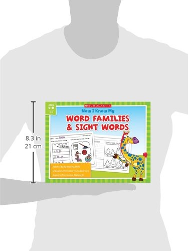 Amazon.com: Now I Know My Word Families and Sight Words ...