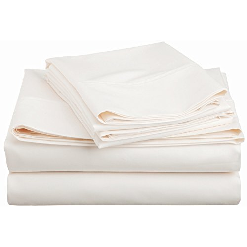 SHOO FOO   Organic Bamboo Bed Sheets Set   100% Bamboo   Deep Pocket Fitted  Sheet   300 TC
