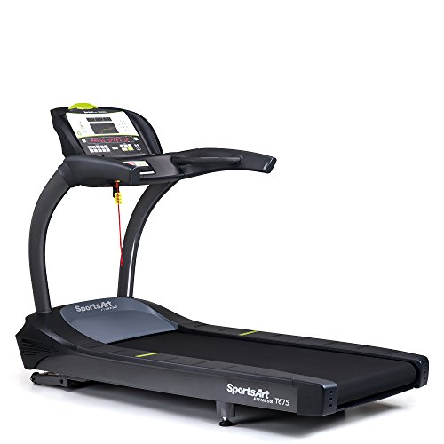 SportsArt Fitness T675 Status Series Club Treadmill with Tri-Color LED Console Display - Commercial Treadmill