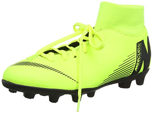NIKE Mercurial Superfly 6 Club MG Soccer Cleat (Volt) (Men's 10.5/Women's 12)