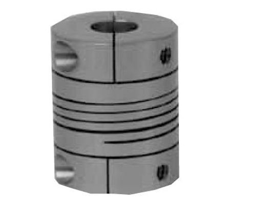 11 lb-in Nominal Torque Metric 0.984 OD 6 mm Bore A Diameter 10000 Max RPM 1.26 Overall Coupling Length No Keyway Aluminum Lovejoy EC100 68514456688 Single Beam Clamp Style Coupling 6 mm Bore B Diameter