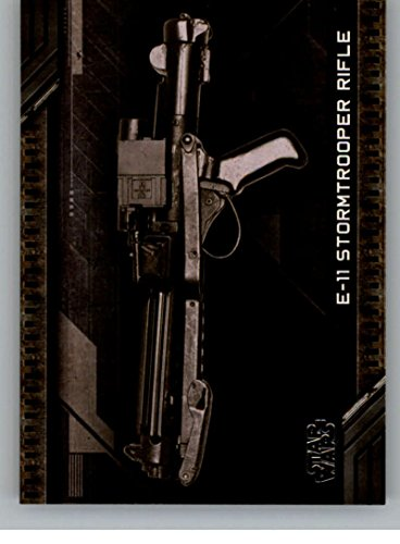 2017 Topps Star Wars Galactic Files Reborn Weapons #W-4 E-11 Stormtrooper Rifle]()