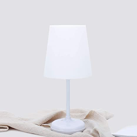 CCSUN Remote Control Timing Led Bedside Table Lamp Nightstand,Modern  Minimalist Nightstand Lamp For Bedroom