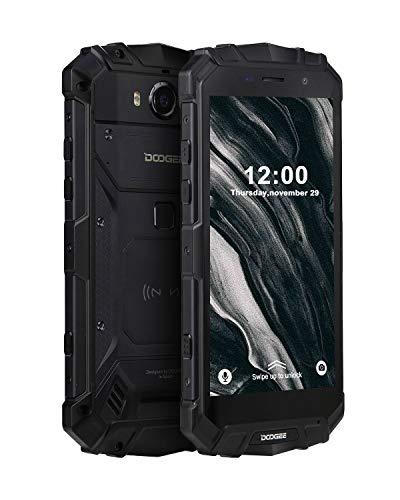 DOOGEE S60 Lite Smartphone Al Aire Libre Robusto 4G, Face ID Celular Doble SIM Libre Android 8.1, Teléfono Móvil IP68…
