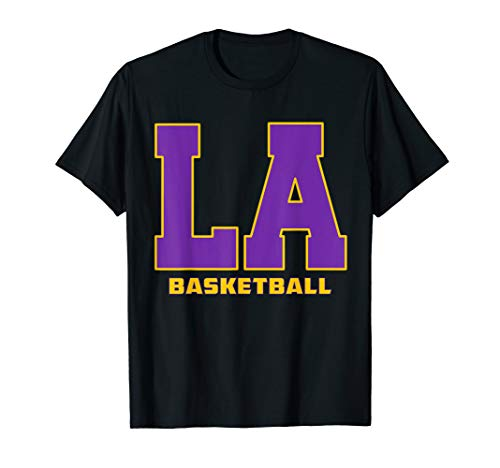 Los Angeles Basketball Laker T Shirt - Apparel