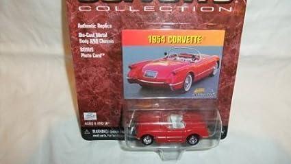 Corvette Collection Johnny Lightning 1954 Corvette Convertible red