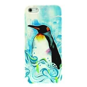 SHOUJIKE Penguin Pattern Hard Case for iPhone 4/4S