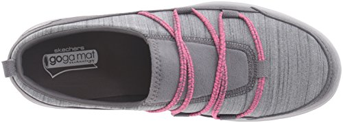 Skechers Performance Damen gehen Step Sway Walking Schuh, Grau / Pink