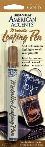 AmericanAccents American Accents Metallic Gold Leafing Pen