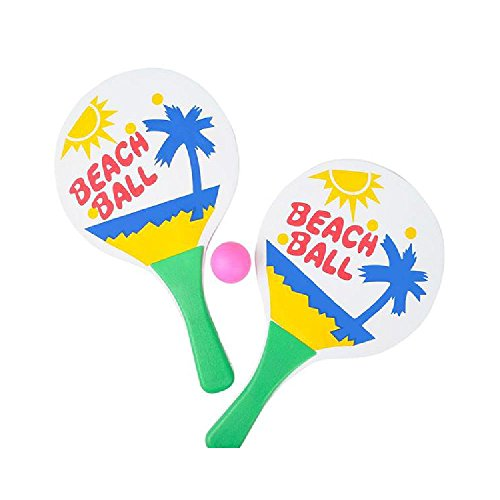 14'' Beach Paddle Game Set by Bargain World