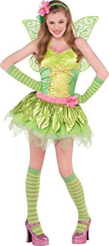 Teen Girls Tinker Bell Costume Size Small 3-5 (Tinkerbell Costumes For Teens)