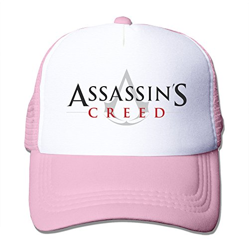 Pink HGLENice Assassin's Creed Unisex Adjustable Baseball Trucker Cap One Size