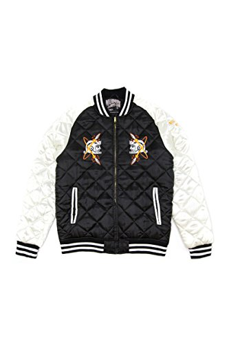 Billionaire Boys Club 861-7402 Las Vegas Souvenir Jacket Fall 2 Black or Blue (2XL, - Jacket Boys Club Billionaire