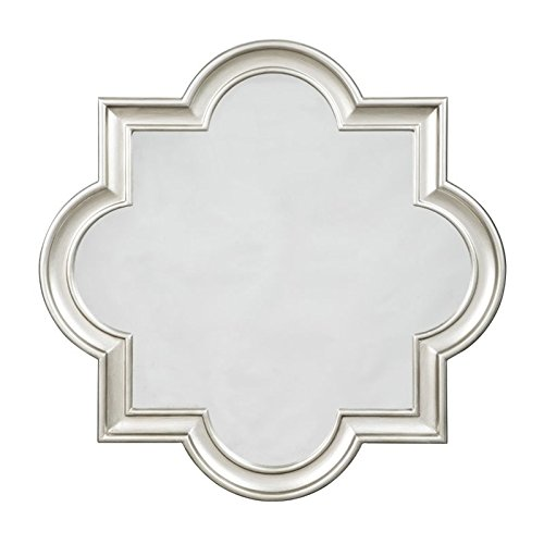 Ashley Furniture Signature Design - Desma Quatrefoil Framed Wall Mirror - Traditional - Champagne (Mirror Quatrefoil)