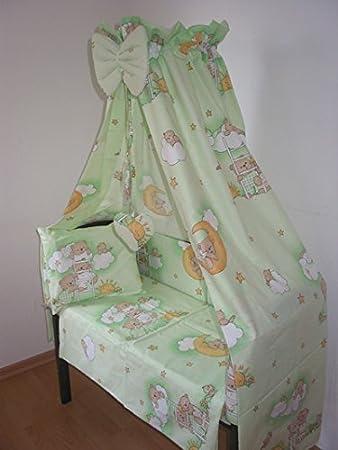 6 Tlg Baby Bettwäsche Für Babywiege Schaukelwiege Beistellbett