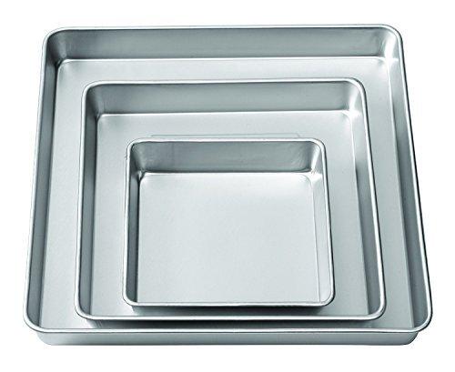 Wilton 3 Piece Performace Pan Sets, Square Set