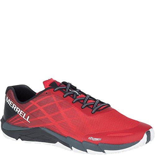 Merrell Bare Access Flex, Zapatillas de Running para Hombre Rojo (High Risk Red)