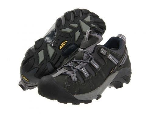 Keen(キーン) メンズ 男性用 シューズ 靴 スニーカー 運動靴 Targhee II - Gargoyle/Midnight Navy [並行輸入品] B07BLQHMW6