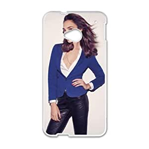 Gal Gadot_002 High Quality Specially Designed Skin cover Case For HTC One M7 White