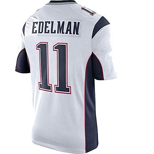 - Men's/Women's/Youth_New_England_#11_Julian_Edelman_White_Game_Jersey