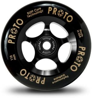 Amazon.com: Proto Pinza Wheel 110 mm), color negro (2 ...
