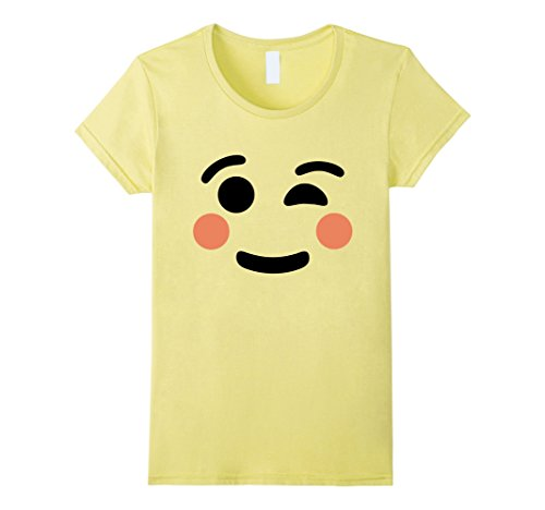 Womens Winking Emoji T-Shirt