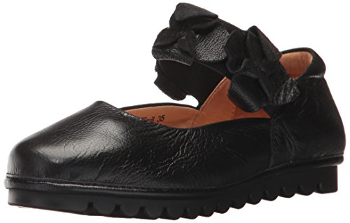Lartiste Di Spring Step Womens Tomee Mary Jane Flat Black