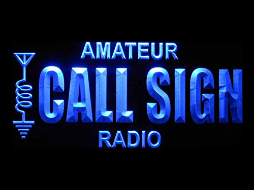 ADVPRO wb-tm Custom Amateur Radio Your Call Sign Led Neon Sign