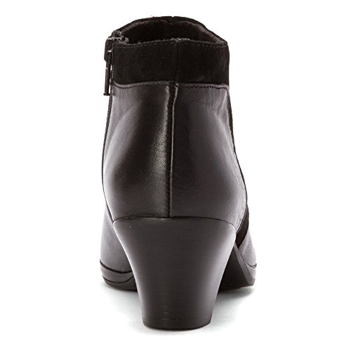 Womens Suede Munro w Womens Munro Leather Black Black Hope 0Eq0a