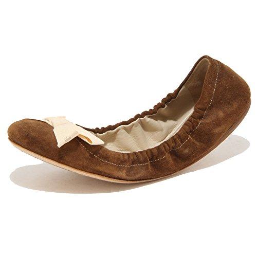 67952 ballerina CAR SHOE VINTAGE scarpa donna shoes women Marrone
