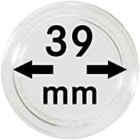 Capsulas para monedas 39 mm (10 piezas) [Lindner