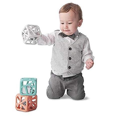 Sevira Kids hochet /à m/âcher Cube de dentition jouet d/éveil