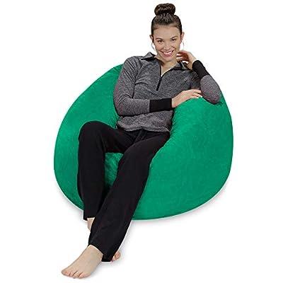 Sofa Sack - Plush, Ultra Soft Kids Bean Bag Chair - Memory Foam Bean Bag Chair with Microsuede Cove