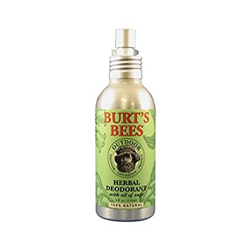 Burt's Bees Herbal Deodorant - 4 Ounce Spray, 1 Piece
