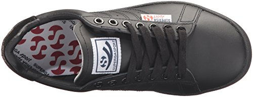 Superga Femmes 4832 Efglu Fashion Sneaker Total Noir