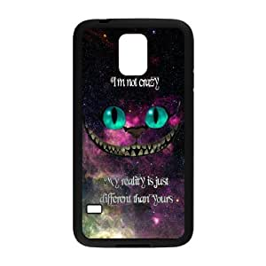 Nebula Space I'm not crazy my reality is just different than yours Protective TPU Cover Case for Samsung Galaxy S5 SV
